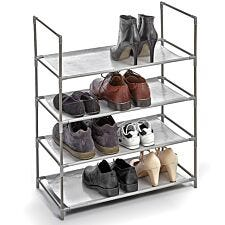H & L Russel 4 Shelf Shoe Rack