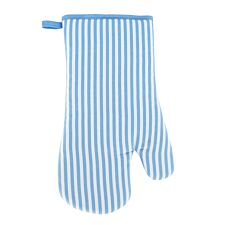 Blue Stripe Single Oven Glove