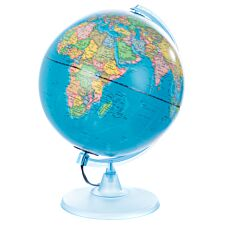 Illuminated 25cm Political World Globe