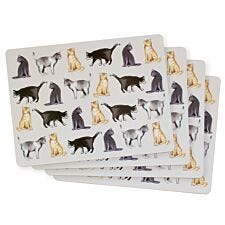 Cat Placemats - Set Of 4