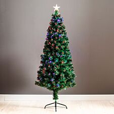6ft Robert Dyas Scottsdale Fibre Optic Christmas Tree