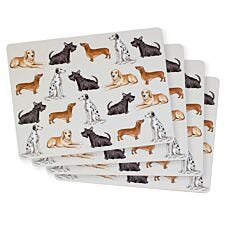 Dog Placemats - Set Of 4
