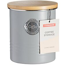 Typhoon Living Coffee Storage Canister - Grey