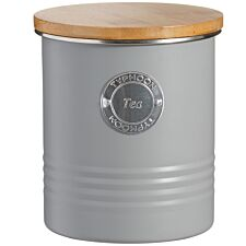 Typhoon Living Tea Storage Canister - Grey