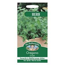 Mr Fothergill's Oregano (Greek) Seeds