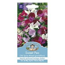 Mr Fothergill's Sweet Pea Old Spice Mixed (Grandiflora) Seeds