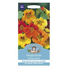 Mr Fothergill's Nasturtium Trailing Mixed Seeds