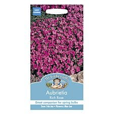 Mr Fothergill's Aubrietia Rich Rose Seeds