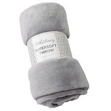 Sensio Home 130 x 170 Luxury Super Soft Throw - Grey