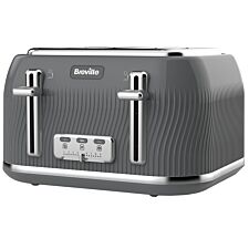 Breville Flow Collection 4-Slice Toaster - Grey