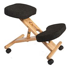 Teknik Wooden Kneeling Chair - Charcoal