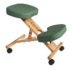Teknik Wooden Kneeling Chair - Green