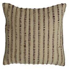 Premier Housewares Bosie Woven Cushion - Beige