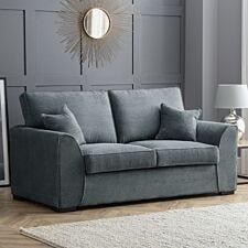Zara 2 Seater Sofa Dot Charcoal