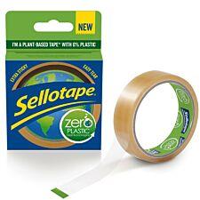Sellotape Zero Plastic - 30m x 24mm
