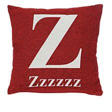 Premier Housewares 'zzzzzz' Cushion - Red