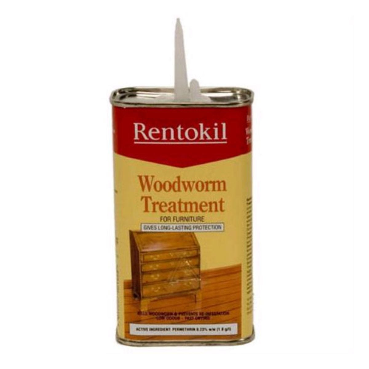 Rentokil Woodworm Treatment Fluid - 250ml