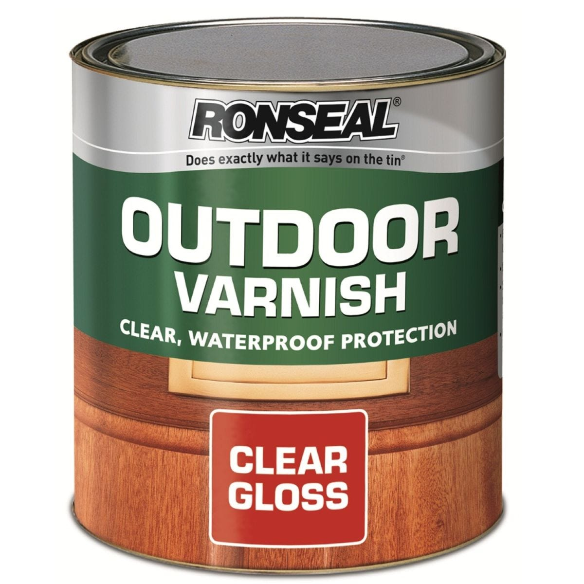 Ronseal Outdoor Varnish – Clear Gloss, 750ml