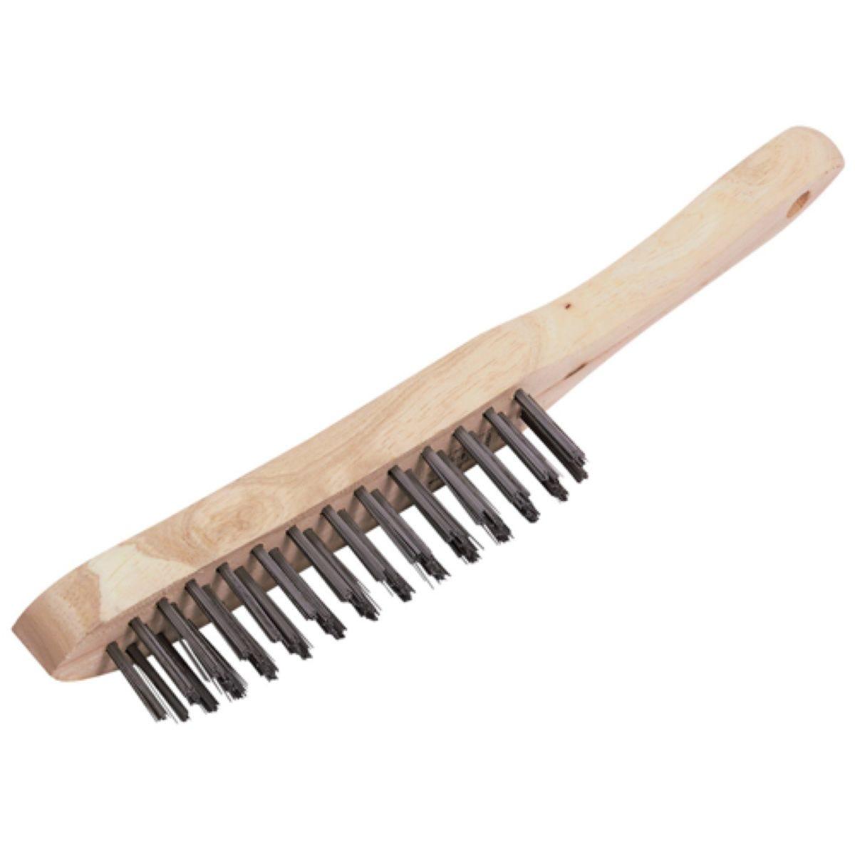 Draper 4 Row Wire Scratch Brush