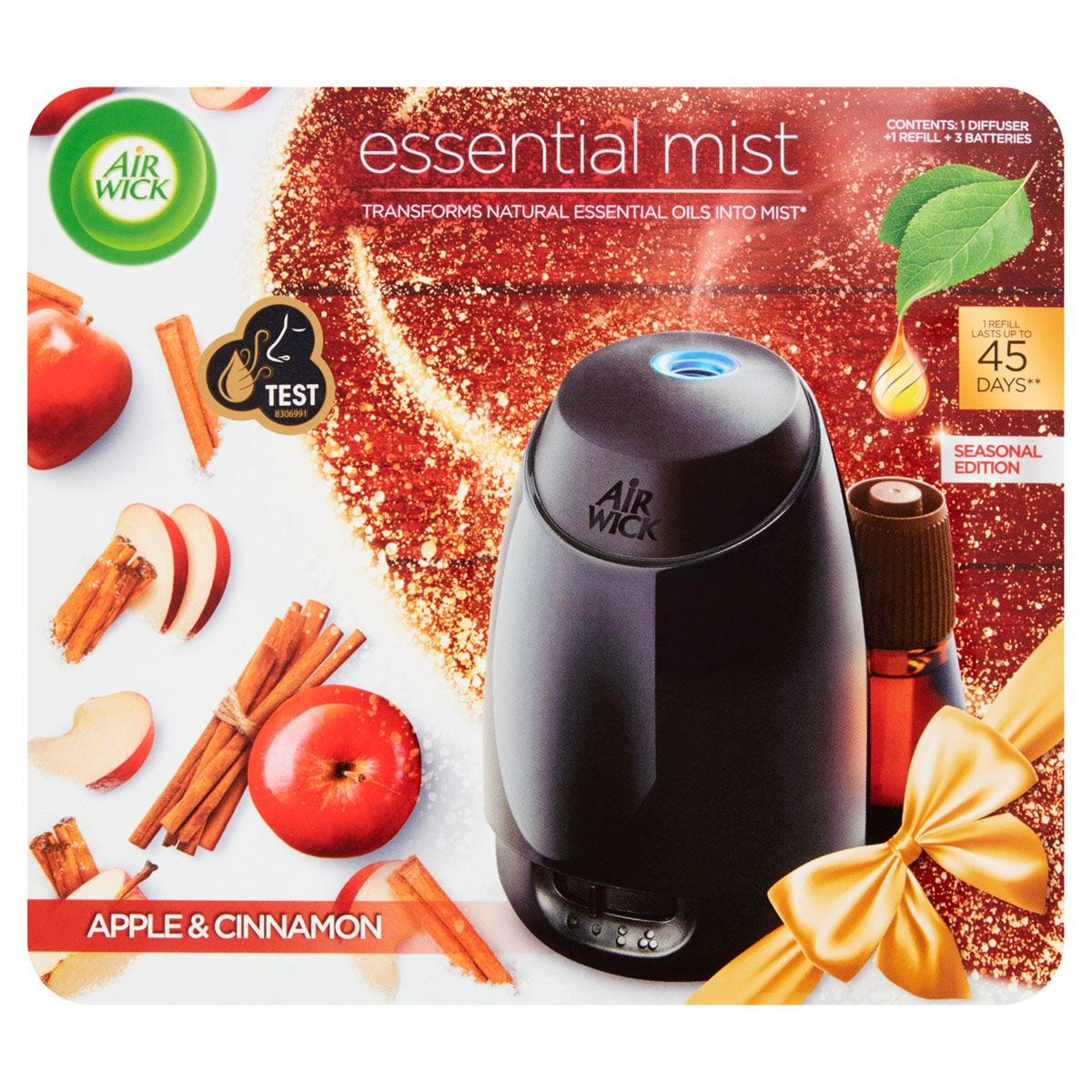 Air Wick Essential Mist Apple and Cinnamon Diffuser