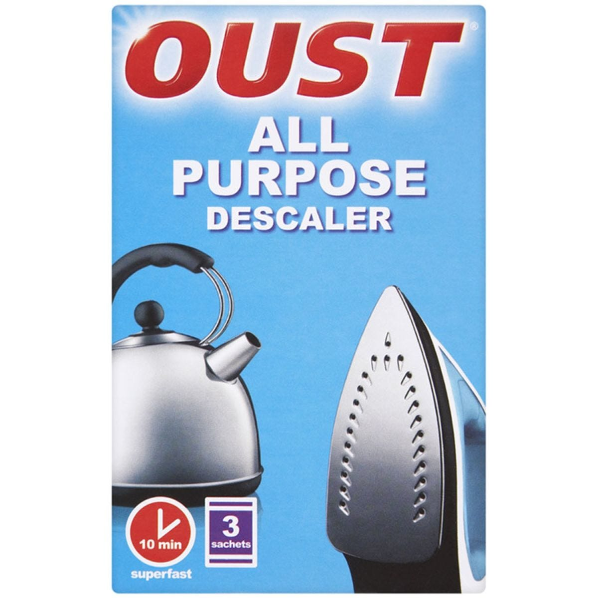 Oust All Purpose Descaler Sachets - 3 Pack
