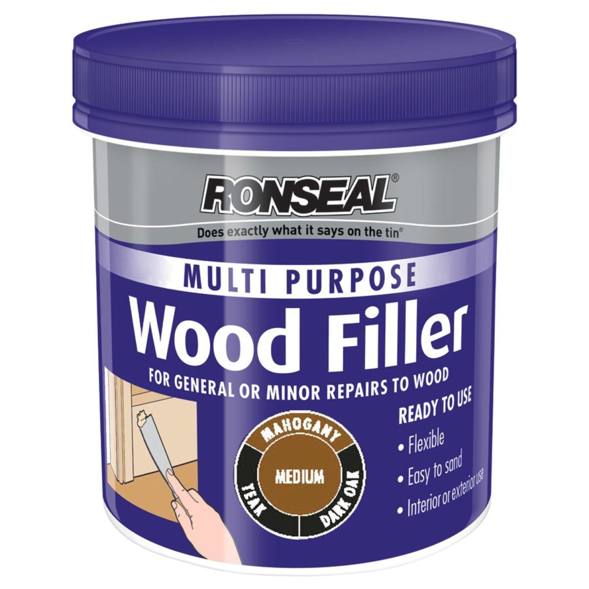 Ronseal Multipurpose Wood Filler Medium 250g
