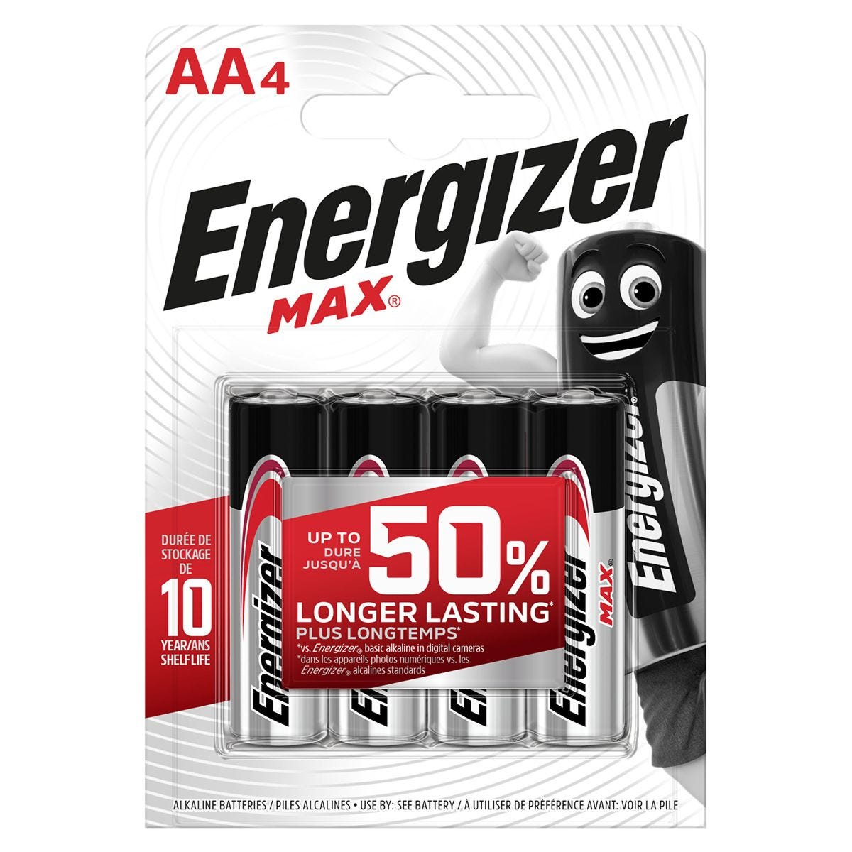 Energizer Ultra+ Batteries AA - 4 Pack