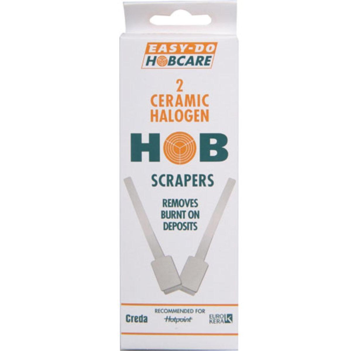 Easy Do Hobcare Hob Scrapers - 2 Pack