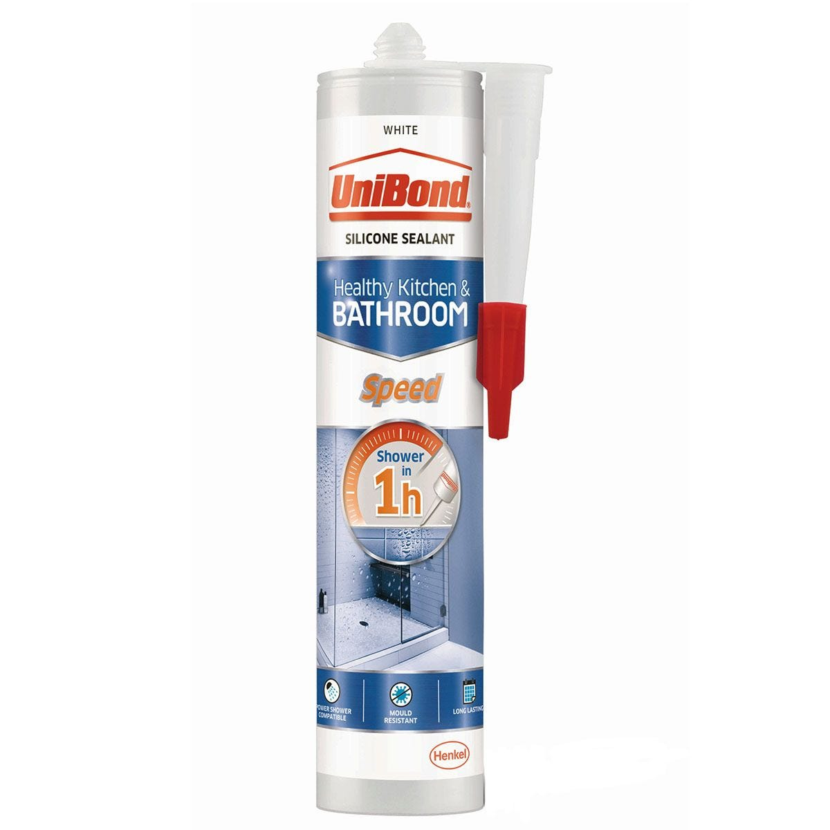 UniBond Speed Kitchen and Bathroom Sealant - White