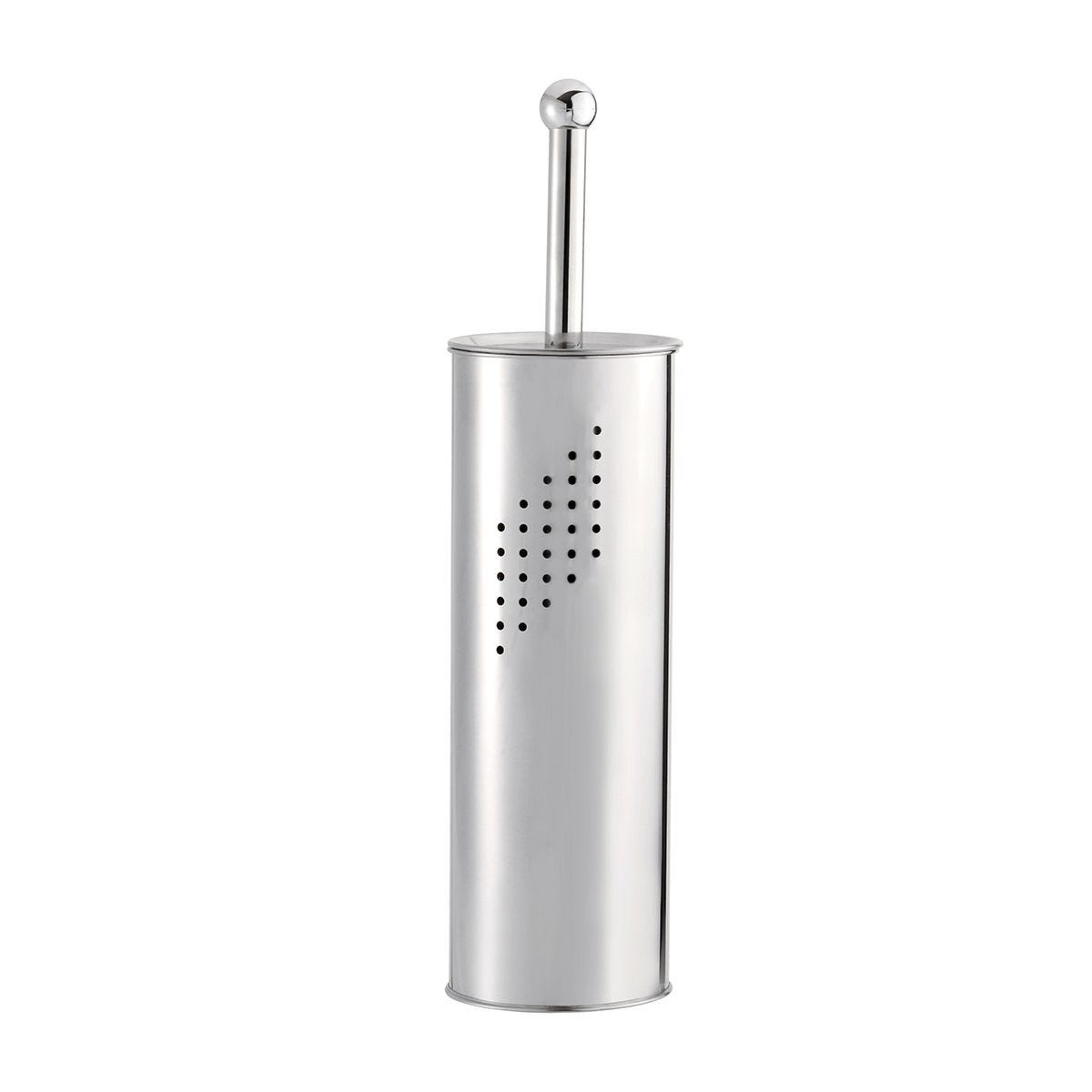 Croydex Toilet Brush Holder - Stainless Steel