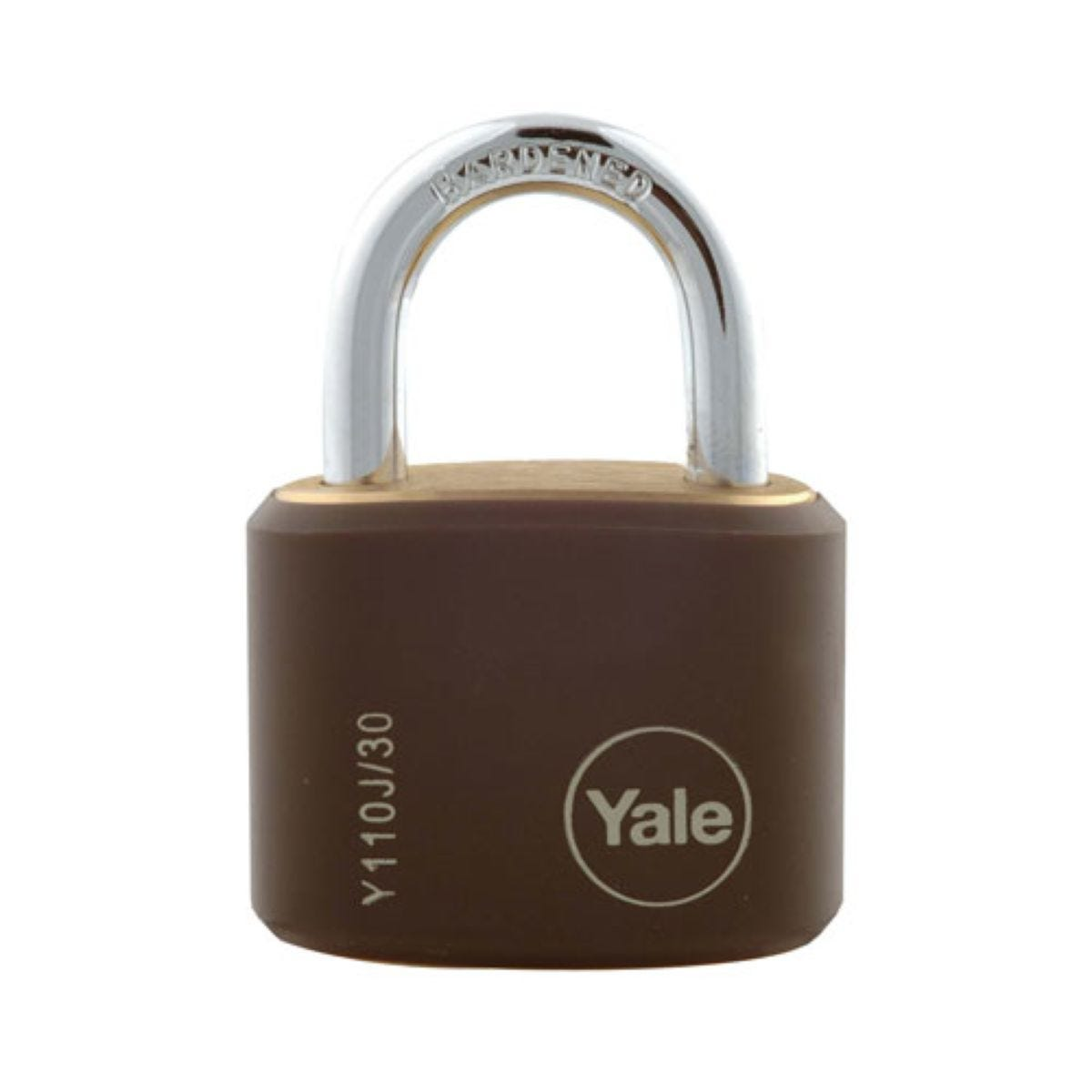 Yale 15mm Brass Padlocks – Pack of 4