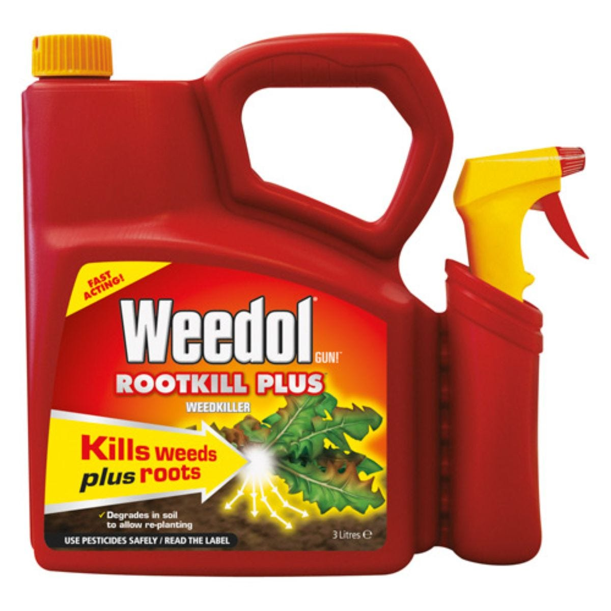 Weedol Ready-to-Use Root Killer with Spray Trigger - 3L