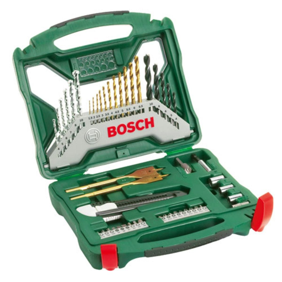 Bosch X-Line 50-Piece Drill and Screwdriver Accessory Set