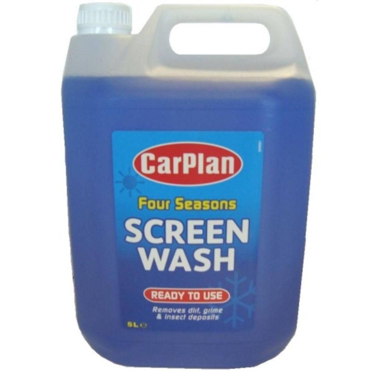 CarPlan Four Seasons Screenwash - 5L