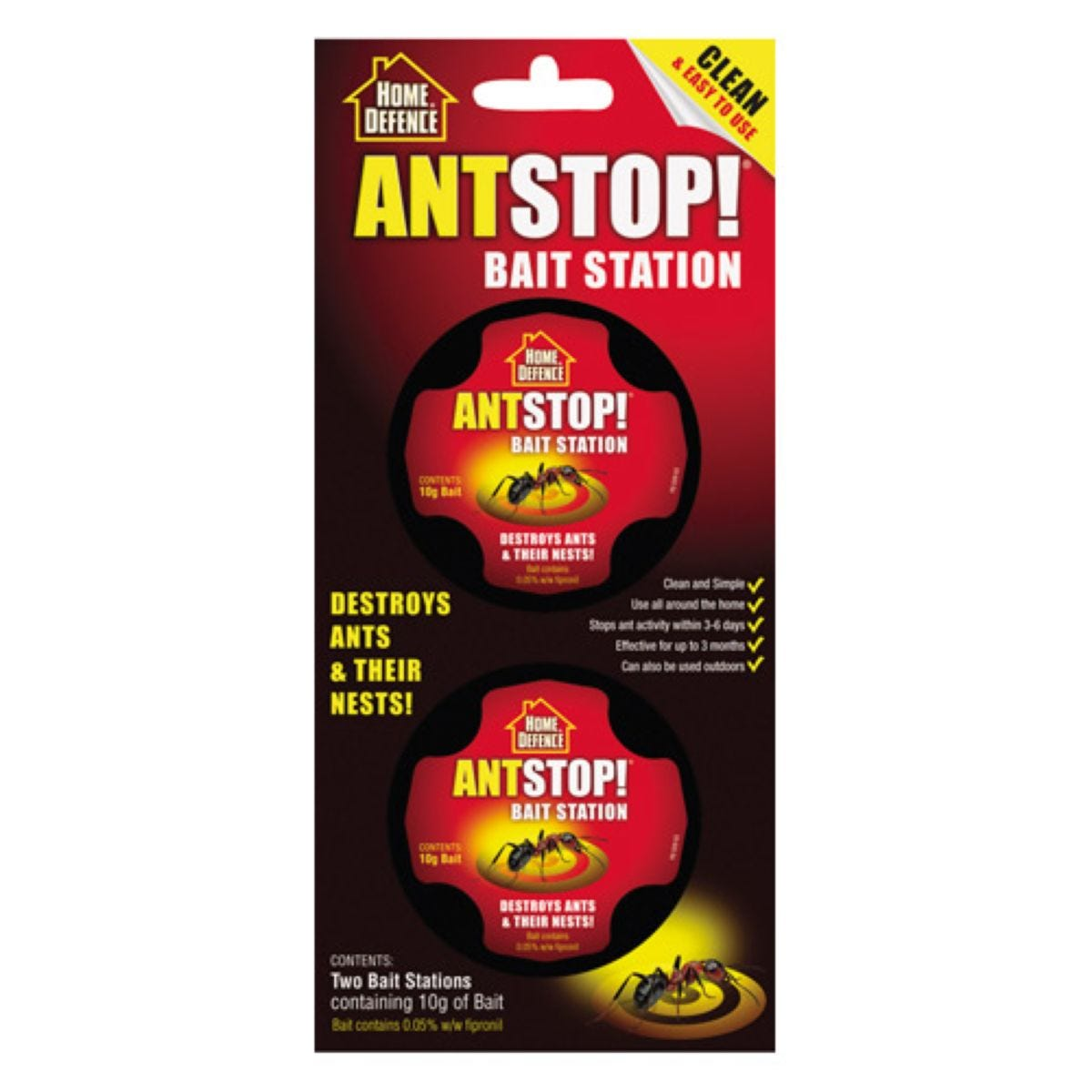 Home Defence Ant Stop! Bait Stations