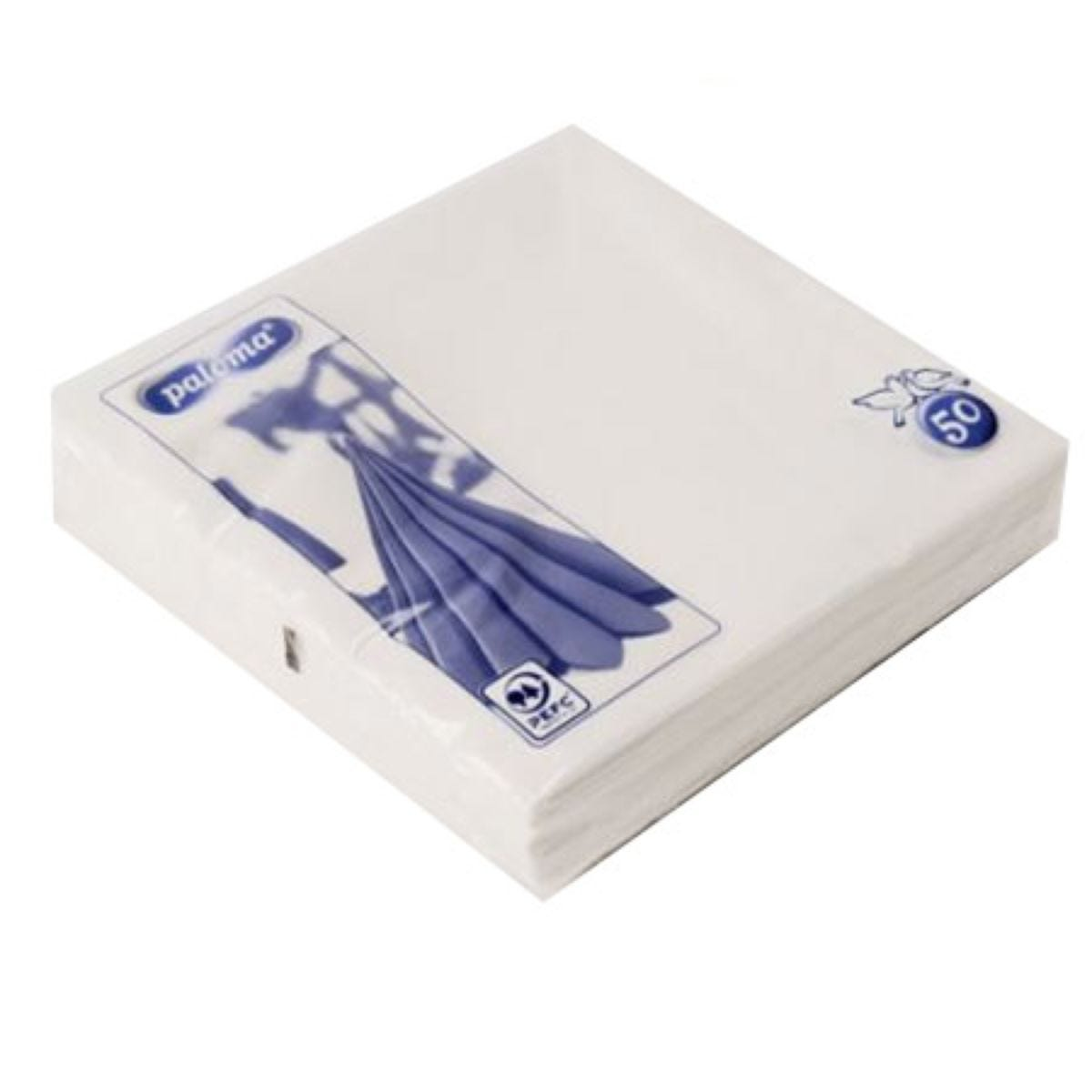 Paloma White Napkins – Pack of 50