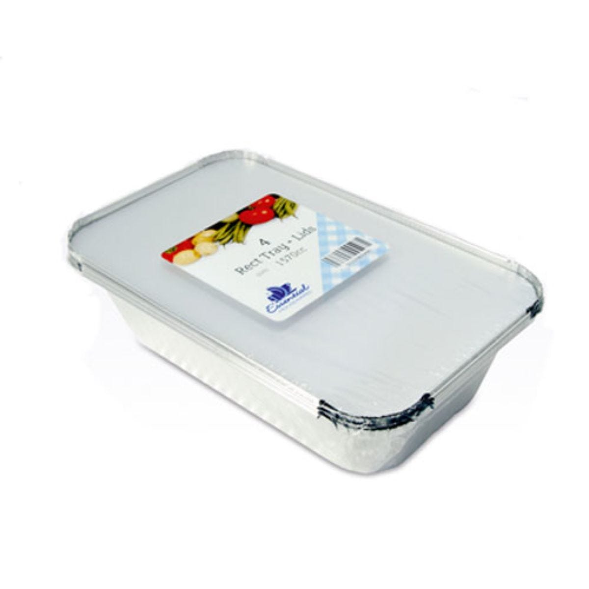 Essential Rectangular Tray with Lid
