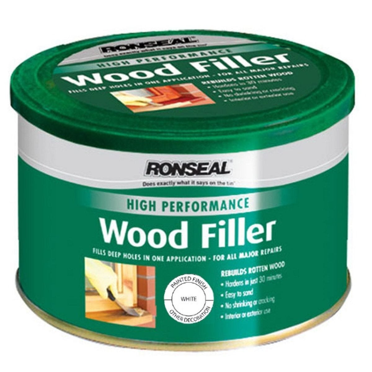 Ronseal High Performance Wood filler White 275