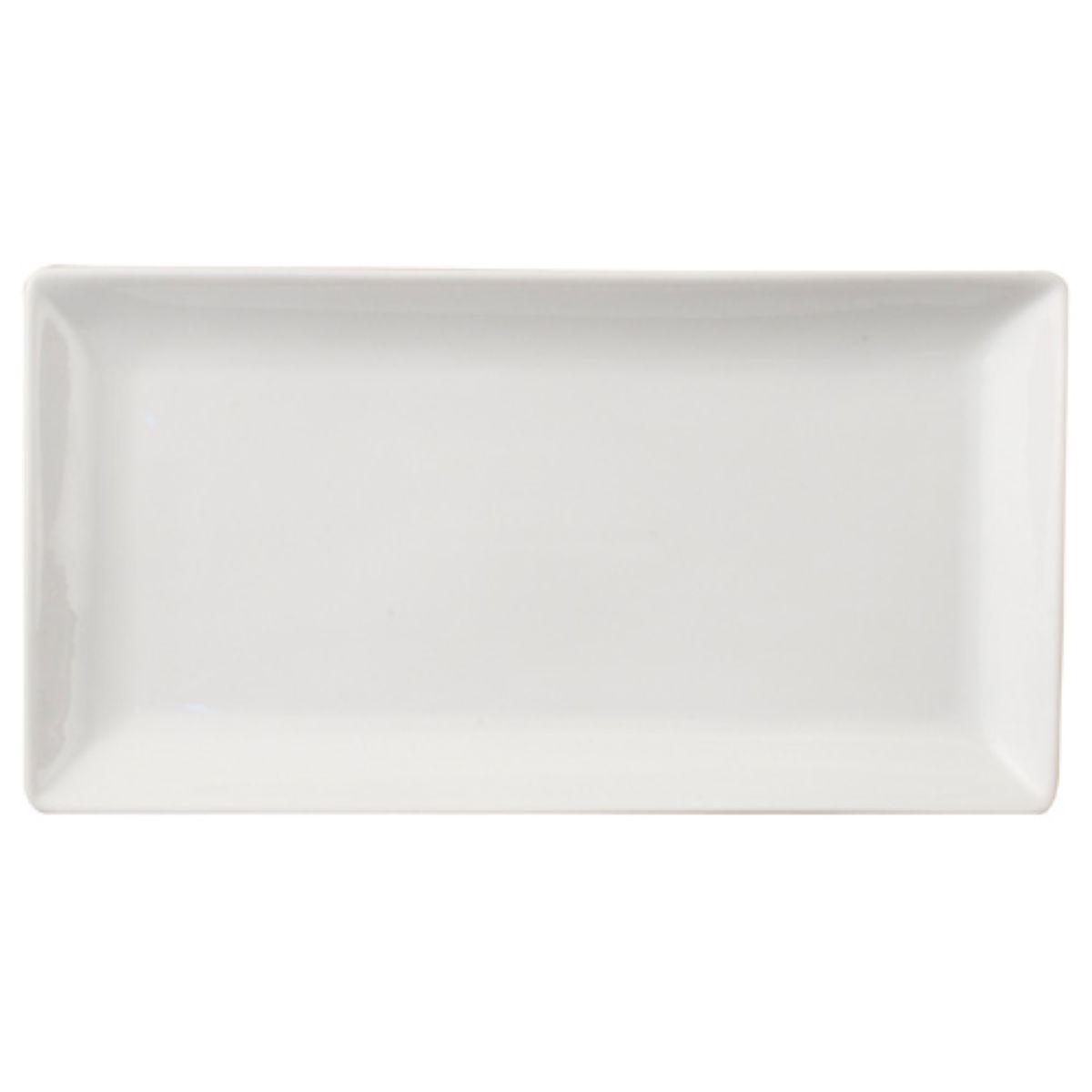 Robert Dyas Rectangular White Porcelain Plate