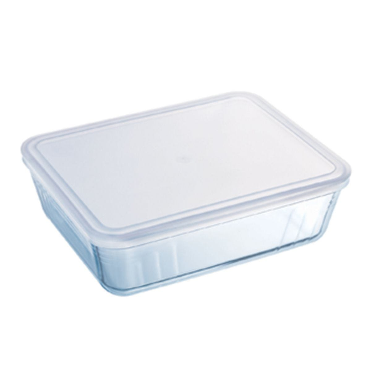 Pyrex Glass Dish with Plastic Lid - 2.6L