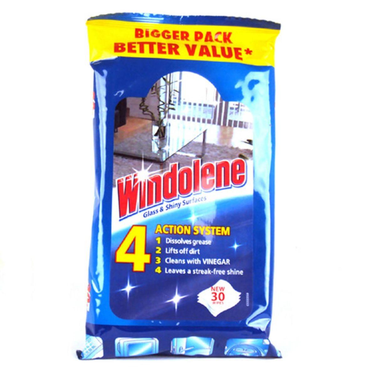 Windolene Wipes - 30 Wipes