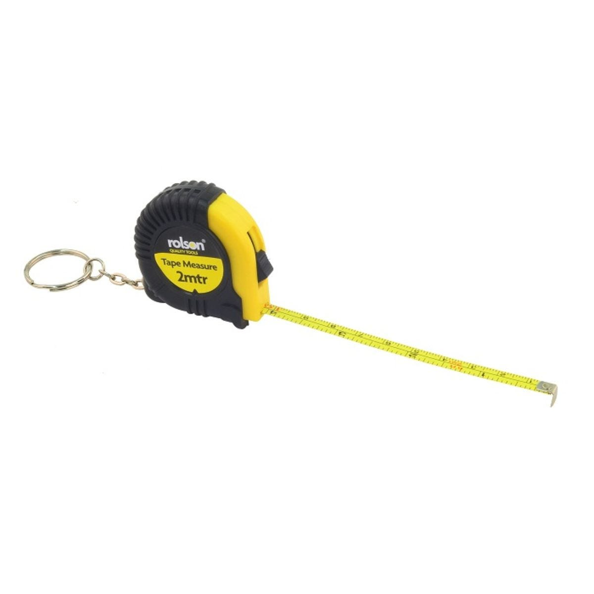 Rolson 2m Tape Measure With Keyring