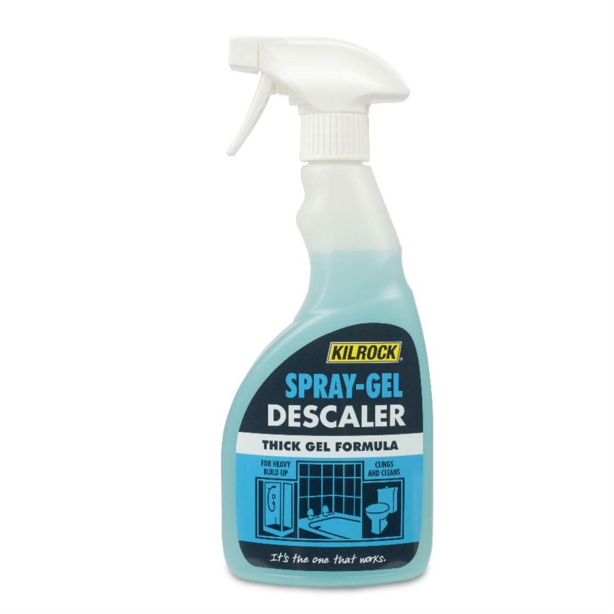 Kilrock Spray Gel Bathroom Descaler - 500ml