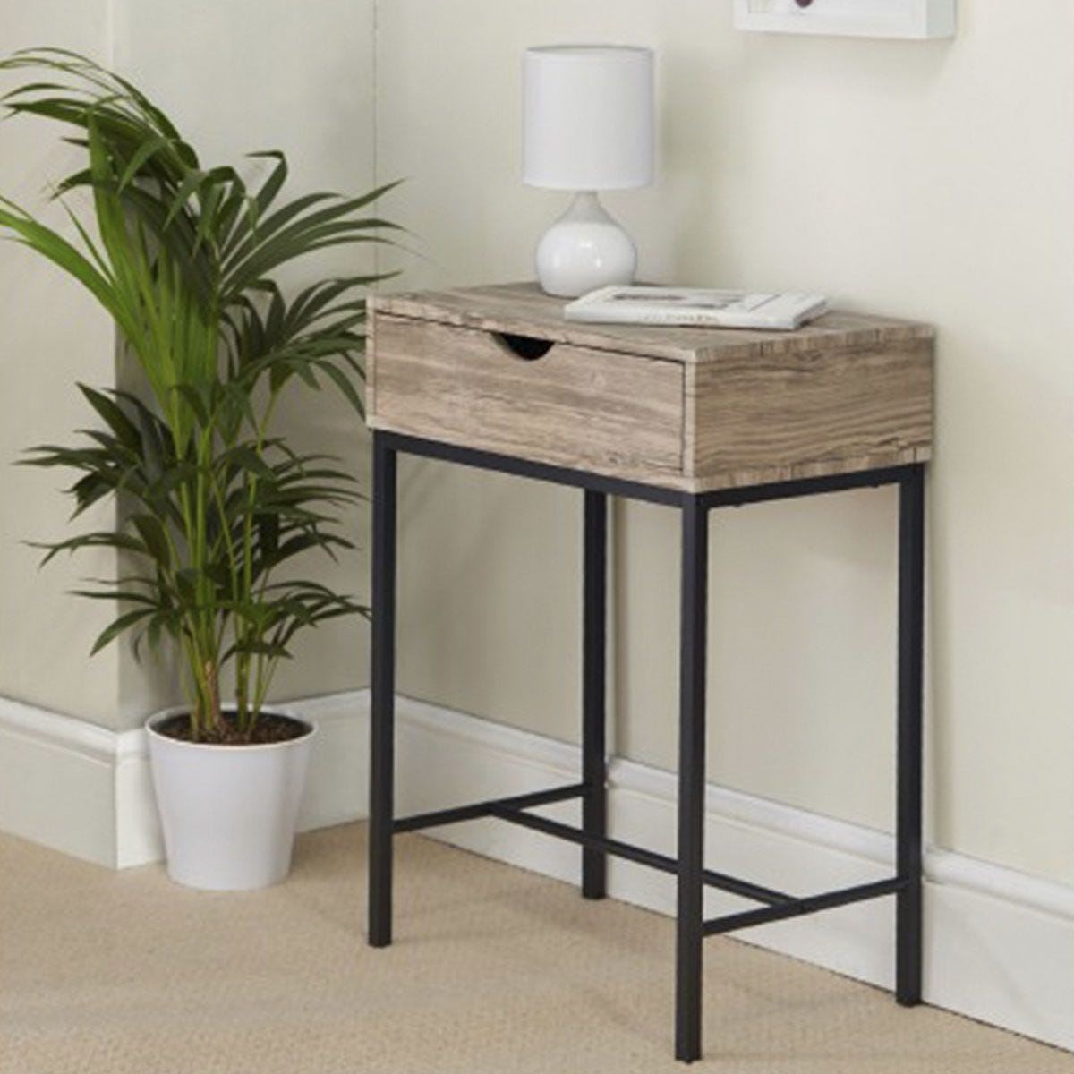 Kubik Console Table with Drawer