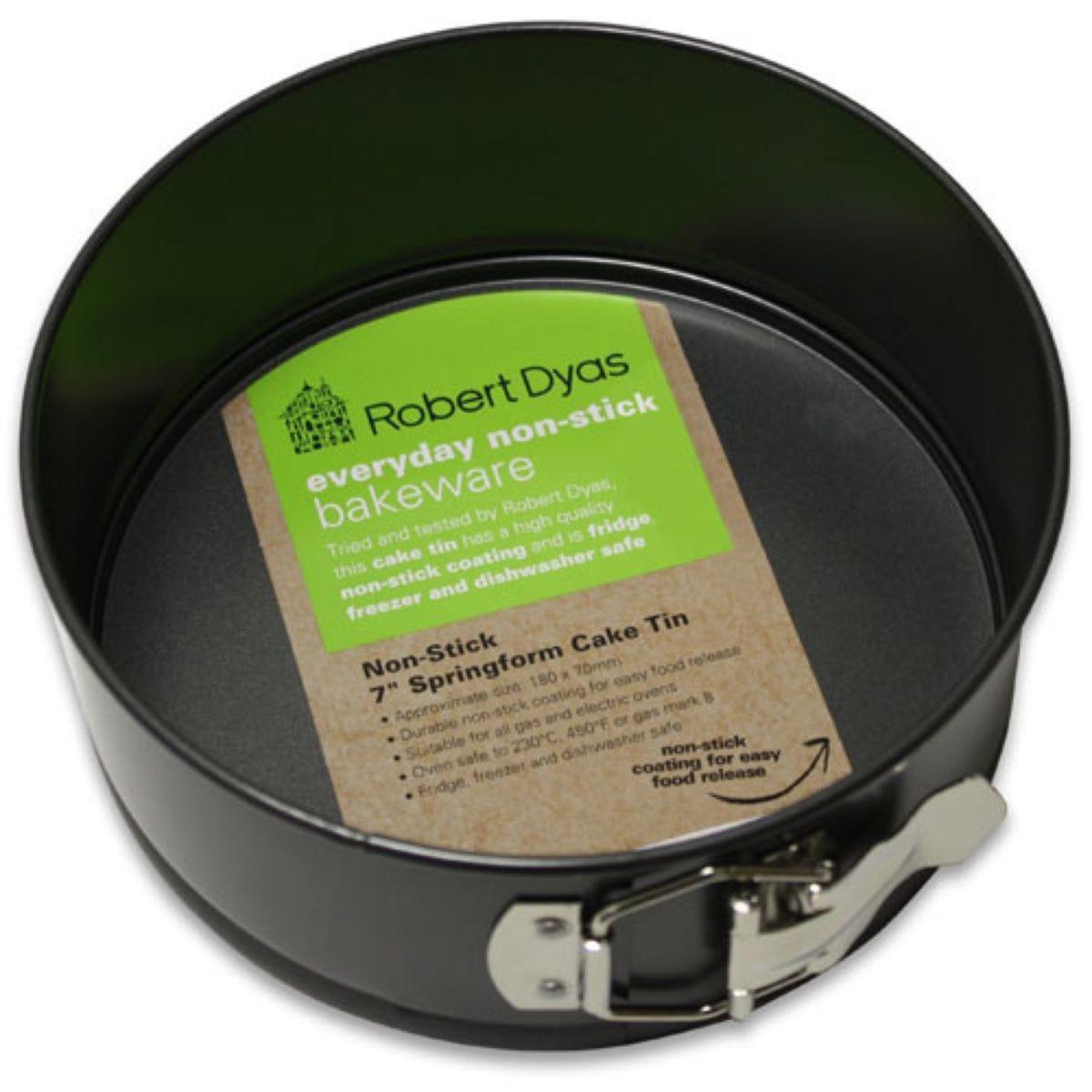 Robert Dyas 7 Inch Spring Form Cake Tin
