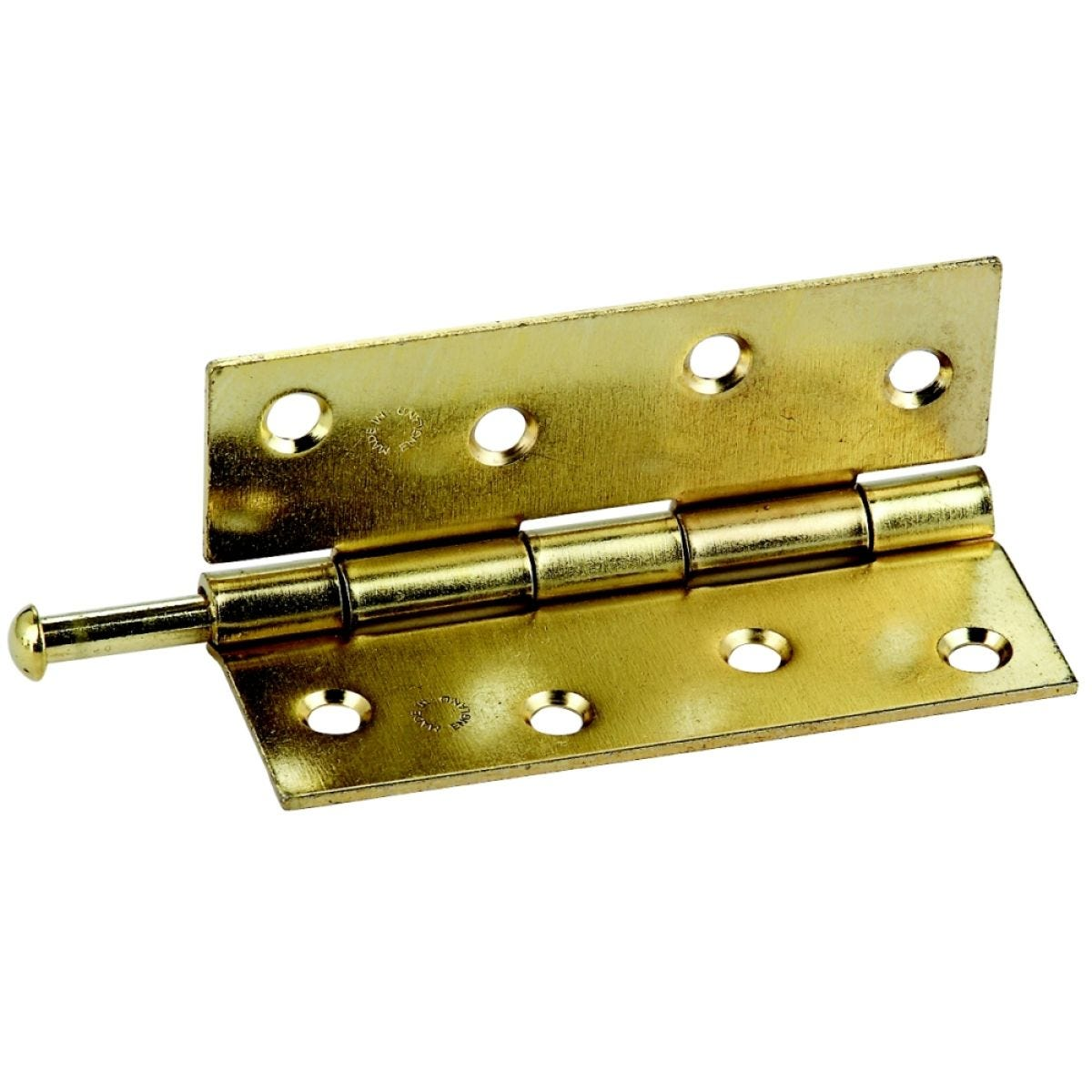 Select Hardware Butt Hinges Brass Solid Drawn 25mm (2 Pack)