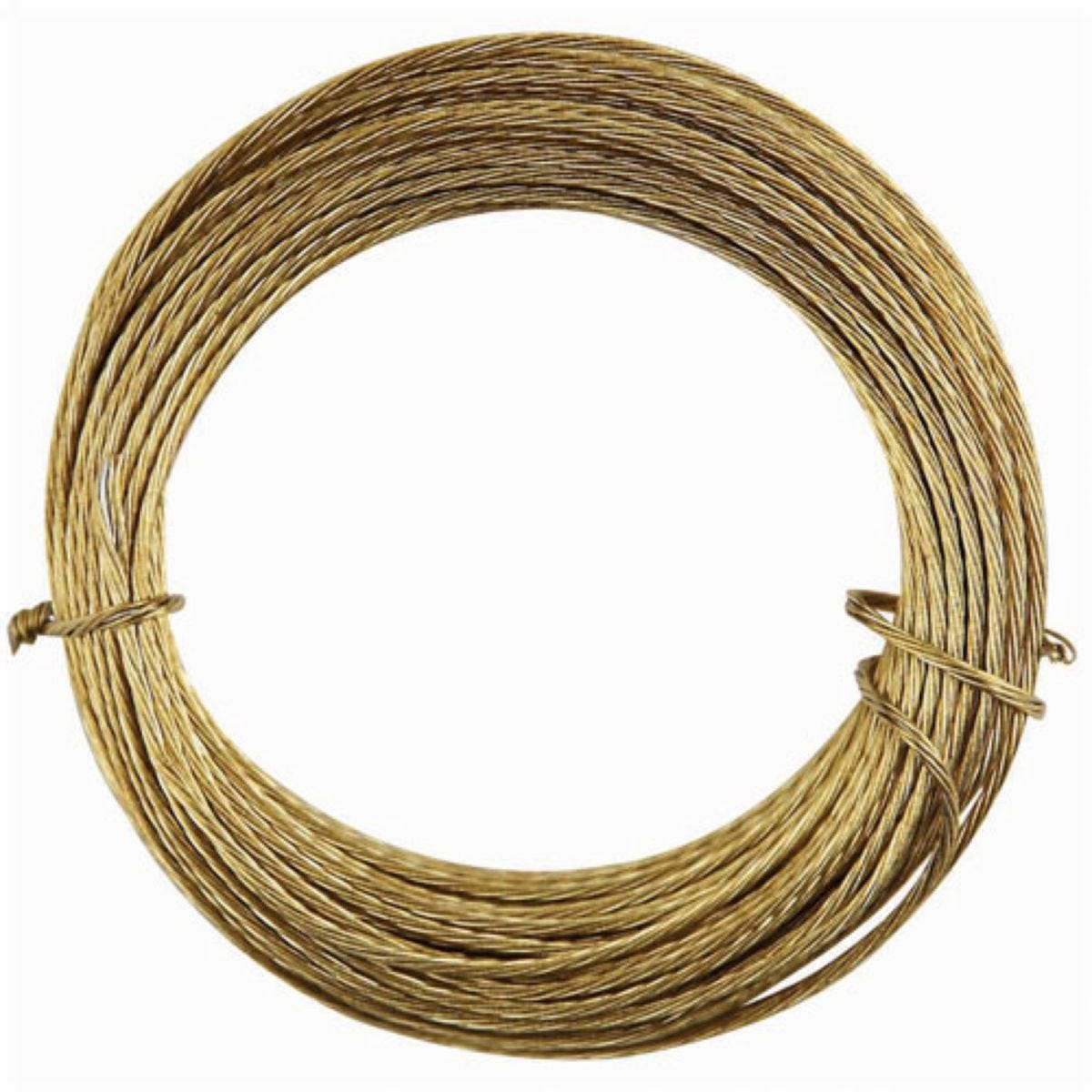 Select Hardware Picture Wire Brass 6m (1 Pack)