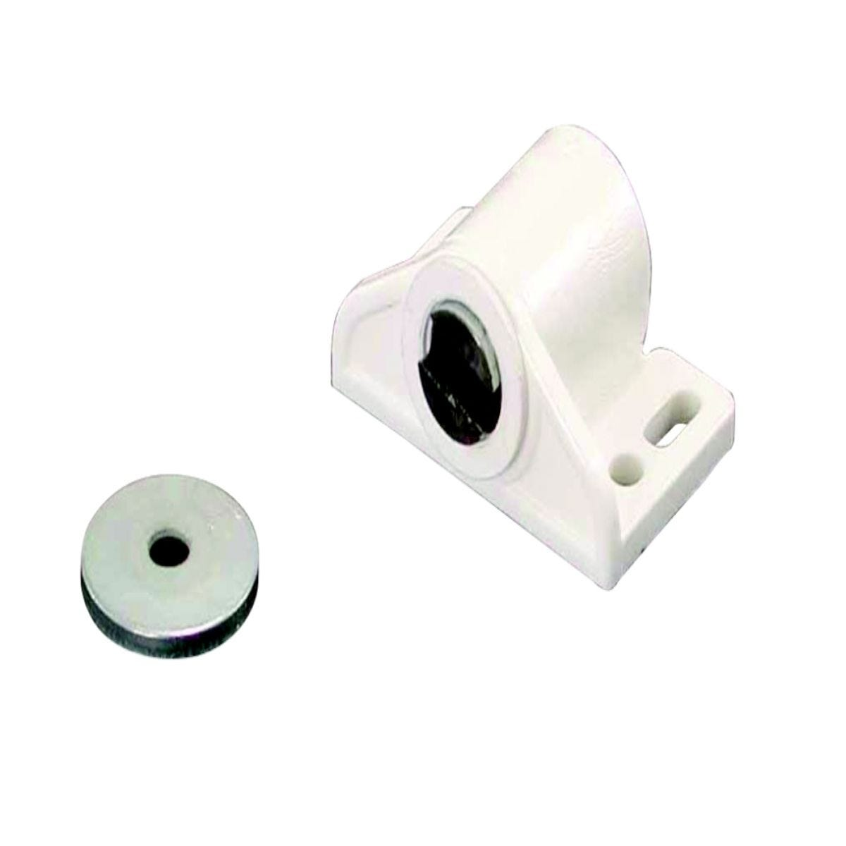 Select Hardware Magnetic Catch Mini White (1 Pack)