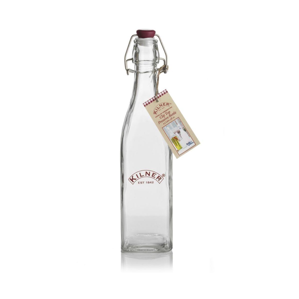 Kilner 1L Clip-Top Preserve Bottle