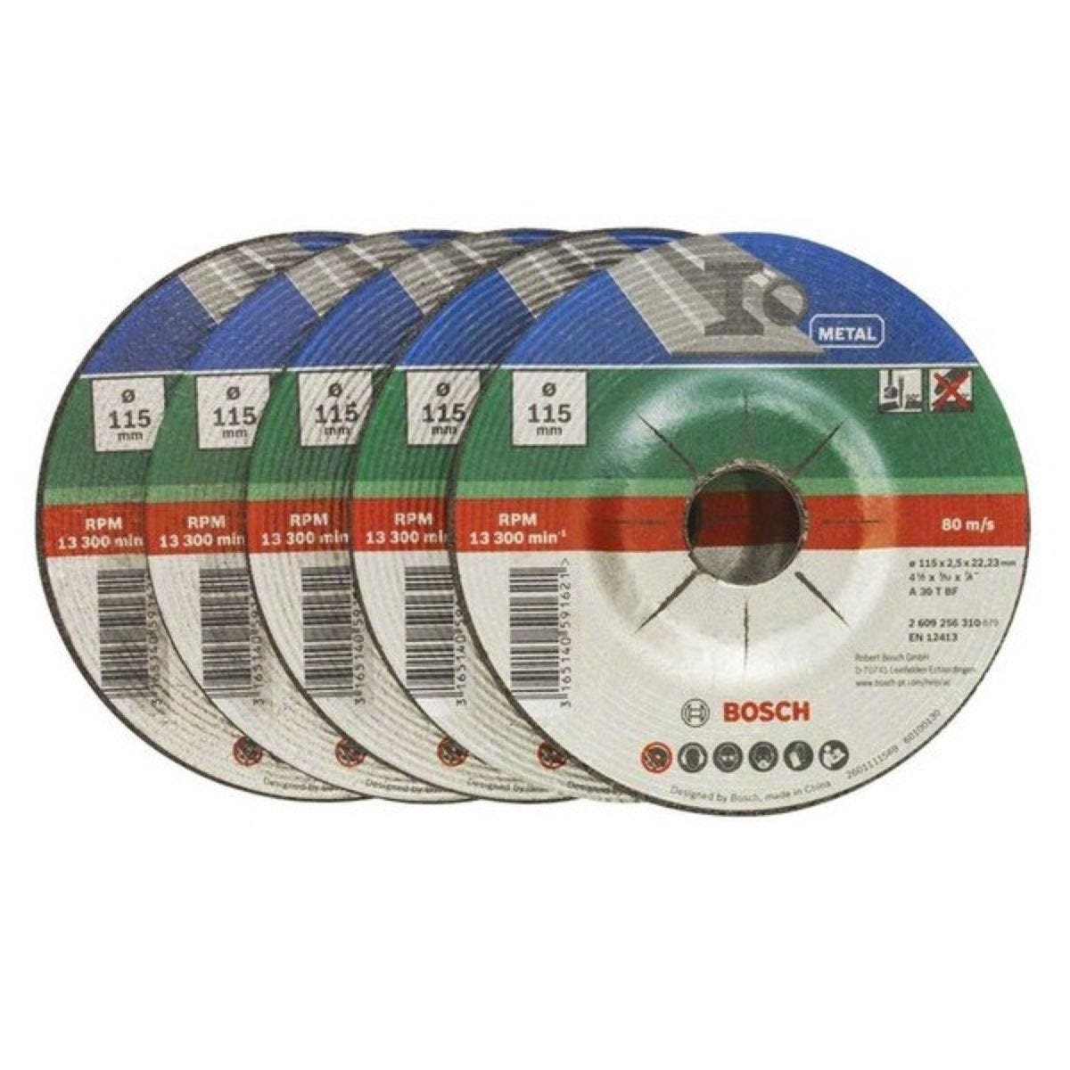Bosch Cutting Discs -  5 Piece